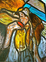Annie Aitken - Stained Glass. Icarus